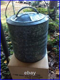 Vintage Igloo Galvanized 2 gallon Water Cooler 1968 Original Box NOS