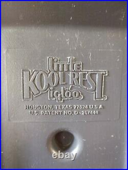 Vintage Igloo Kool Rest Car Center Console Cooler Cup Holder C10 F100 Golf Cart