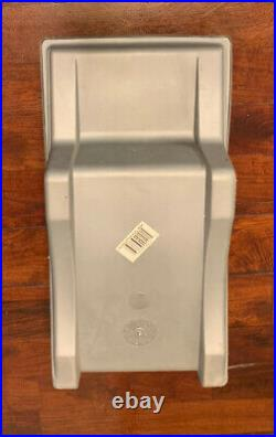 Vintage Igloo Little Kool Rest Car Cooler Grey Blue Console Ice Chest Cup Holder