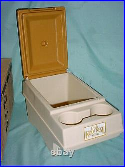Vintage Igloo Little Kool Rest Cooler Early Bronco Center Console Chest 66-77