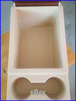 Vintage Igloo Little Kool Rest Cooler For Armrest/Center Console Cup Holder Car