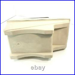 Vintage Little Kool Rest IGLOO Car Console Cooler Brown Tan Can Holder Ice Chest