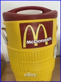 Vintage McDonalds IGLOO IGL451 INDUSTRIAL 5 Gallon DRINKING WATER COOLER