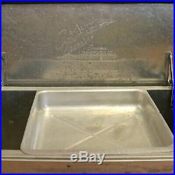 Vintage Pearl Lager XXX Beer Aluminum Ice Chest Cooler with Original Tray