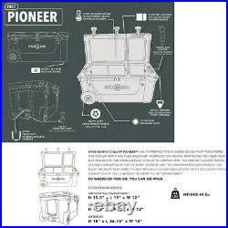 Wyld Gear 75 Quart (50/25 Split) Pioneer Hard Cooler Wyoming