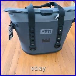 YETI HOPPER M30 SOFT COOLER Brand New Gray (With a small logo)
