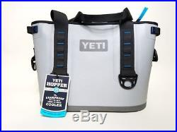 YETI Hopper 20 Cooler Fog Gray / Tahoe Blue YHOP20G