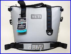 YETI Hopper 30 Cooler Fog Gray / Tahoe Blue YHOP30G