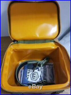 YETI Hopper Flip 12 Can Portable Cooler, Field Tan / Blaze Orange