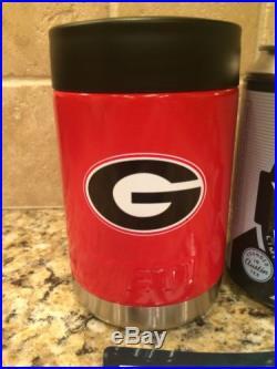 YETI Rambler Colster- Custom GEORGIA BULLDOGS-NEW! Can/Bottle Beverage Cooler