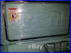 YETI SEAFOAM GREEN LIMITED EDITION SOLD OUT TUNDRA 65 COOLER NEW IN BOX NO