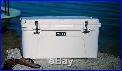 YETI Tundra 65 QT Cooler WHITE Fishing Hunting Camping NEW IN BOX