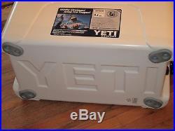 Yeti Cooler Tundra 45 Quart White Cerified Bear Resistent NEW
