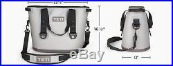 Yeti Hopper 30 Leakproof Cooler Gray