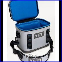 Yeti Hopper Flip 8 Fog Gray Insulated Soft Side Cooler 8.3 Quart Day Trip Bag