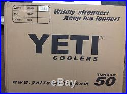 Yeti Tundra 50 White FREE STANDARD SHIPPING
