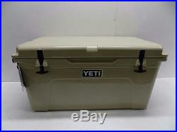 Yeti Tundra 65 Cooler 61 Quart Tan