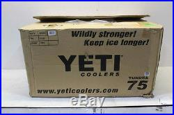 Yeti YT75W Tundra 75 Cooler Polyethylene