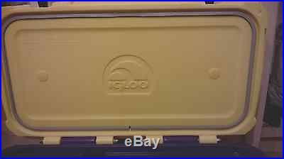 Yukon Cold Lockers 70 quart PURPLE & GOLD Brand Igloo